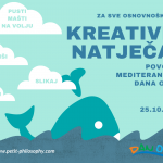 Mediteranski dan obale - Kreativni natječaj za osnovnoškolce