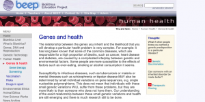 Read more about the article Genes and health
